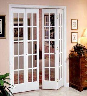 Межкомнатные двери гармошка