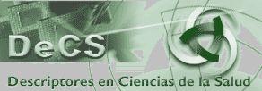DeCS - Descriptores en Ciencias de la Salud