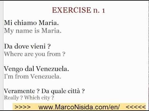 Learn Italian Free 5 Italian Online Course