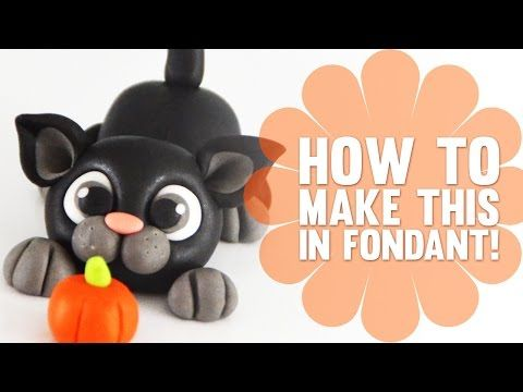 Super Speed Video - How to make a cute little black cat - YouTube