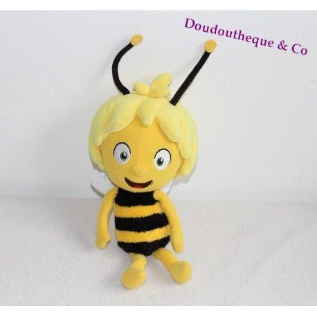 Peluche Maya l'abeille JEMINI jaune noir Maja Maya 30 cm