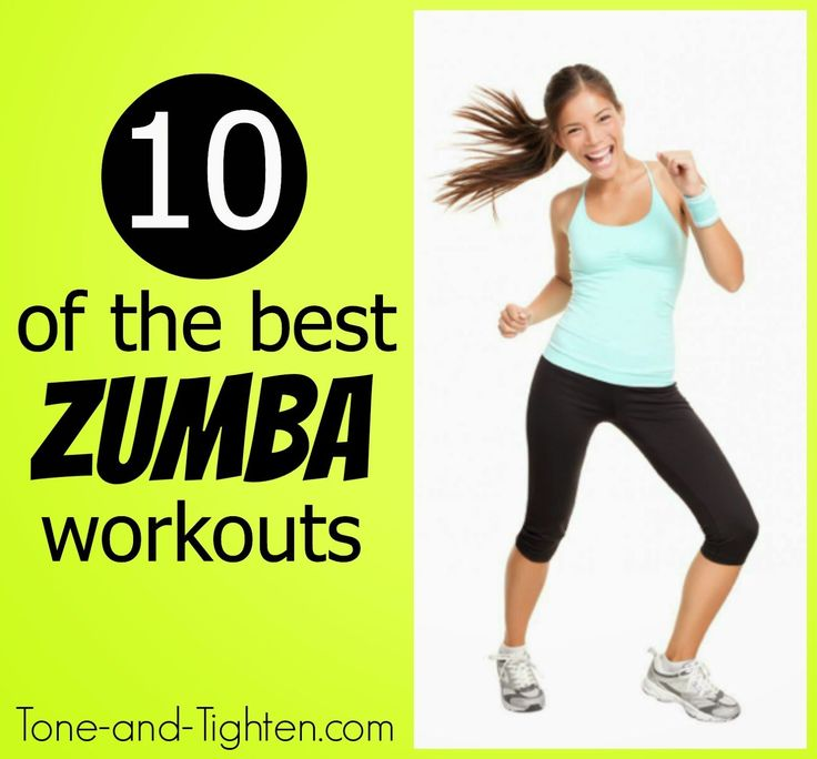 10 Free Full-Length Zumba Workout Videos you can do in the comfort of your own home! Tone-and-Tighten.com