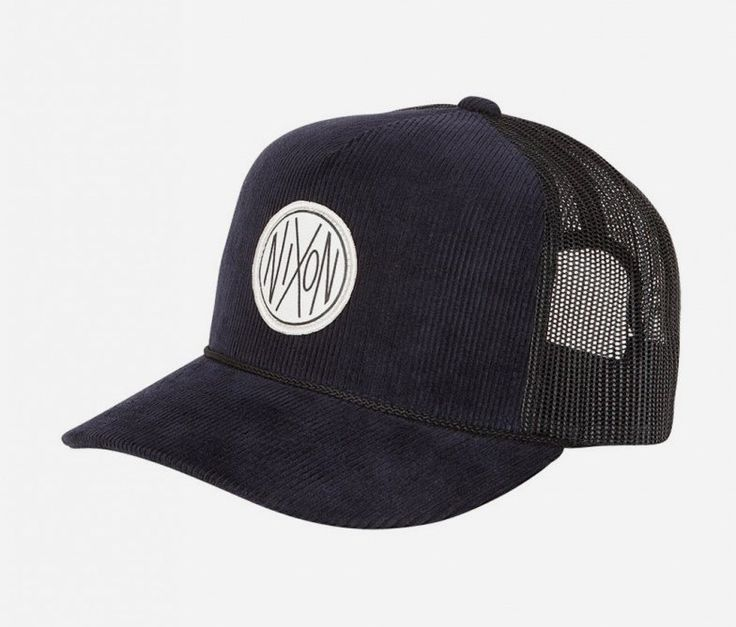 NXN cord trucker hat (Steel Blue) by Nixon. Rock the flat cap with the snap back that's different from other copycats. With a custom detailing, corduroy accents and high quality fabric, the Cord Trucker is a cap that sets itself apart in both style and quality. http://www.zocko.com/z/JEui2