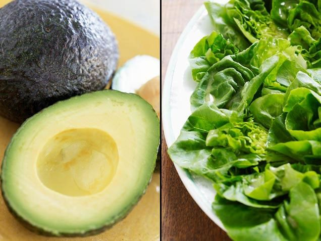 Avocado + Green Salad = Complexion Protection | Stay-Well Strategy: To nab this nutrition perk, slice a half of an avocado into your next green salad. | From: ivillage.com