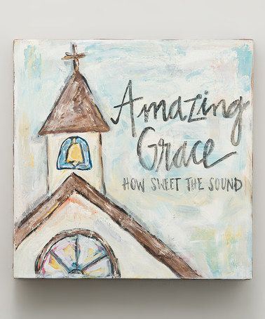 Another great find on #zulily! 'Amazing Grace Chapel' Canvas #zulilyfinds