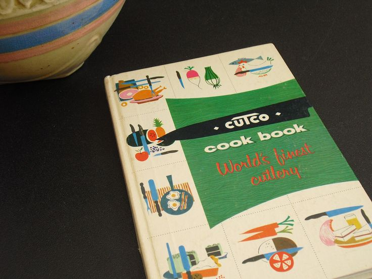 Vintage Cutco Cook Book, World's Finest Cutlery, Wear-Ever Aluminum, How to Guide for Buying Knives and Meats, Outdoor Cooking, Old Cookbook by AgsVintageCove on Etsy