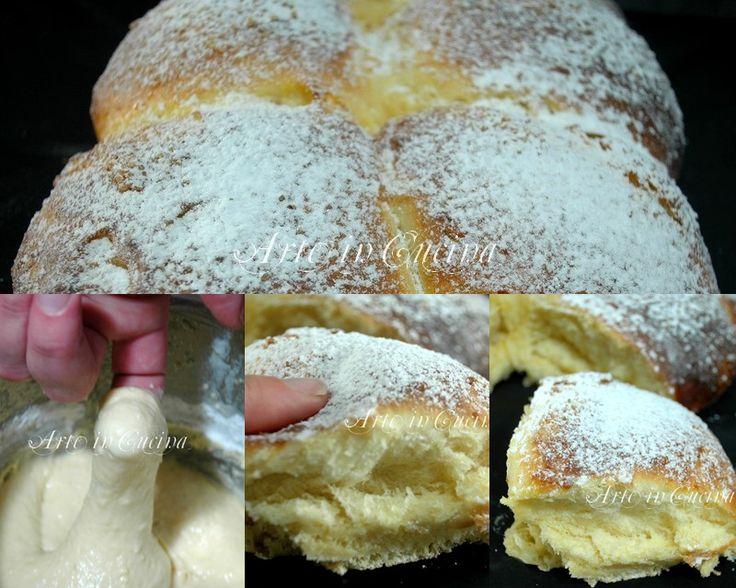 Pan brioche soffice al limone senza burro