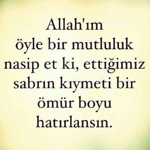 Amin İnşaAllah.