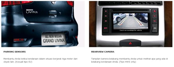 Parking System + Rear Camera dari Nissan, Mobil Terbaik Pilihan Keluarga Indonesia