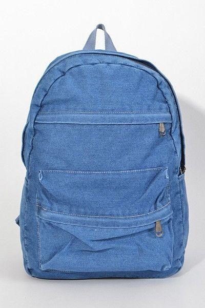 DENIM ON DENIM Backpack