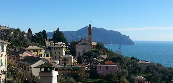 The tiny hamlet of Pieve Ligure is a secret pearl in the Italian Riviera