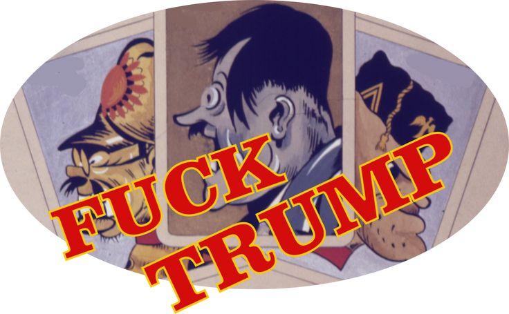 Donald Trump POTUS NAZOTUS Hitler Nazi
