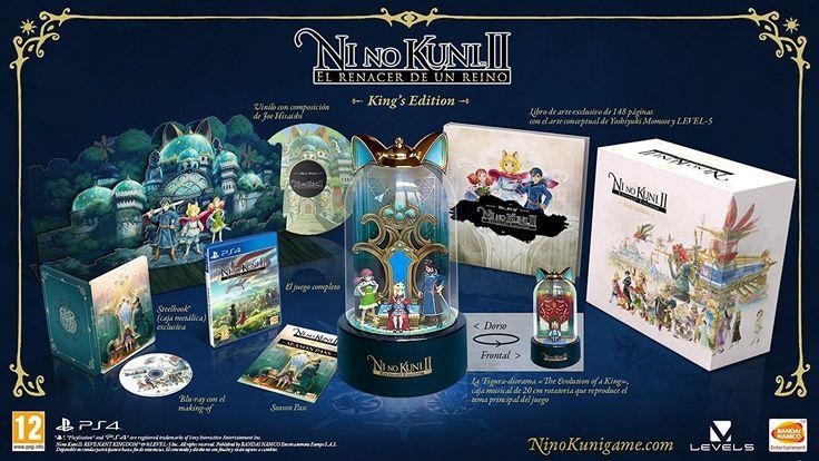 Ni No Kuni II King's Edition BONUS FIGURE INCLUDED! Playstation 4 PS4 PRE-ORDER: $249.99 End Date: Saturday Apr-7-2018 0:58:08 PDT Buy It…