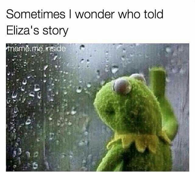 We did. Lin Manuel Miranda wrote a musical about Alexander Hamilton and in the process told Eliza's story. Boom
