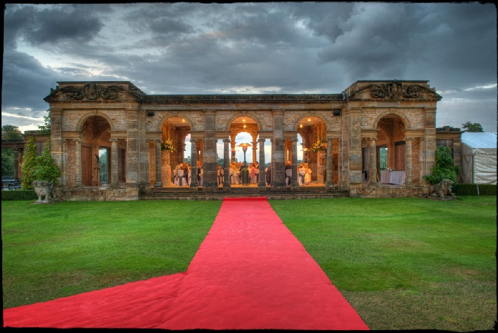 The Red Carpet Awaits Hever Castle In Kent Is The Wedding Venue