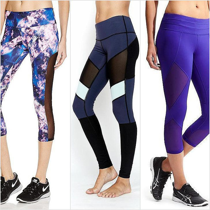 Rock the Mesh Legging Trend in Yoga, at Spin, and on Your Next Run