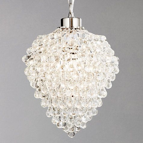 Buy John Lewis Millicent Glass Ceiling Pendant, Large Online at johnlewis.com