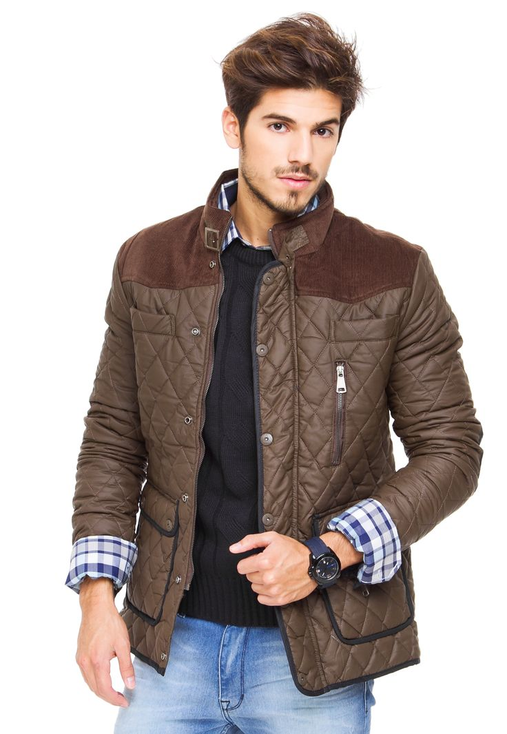 Campera Marron Dinamarca Camdemtown