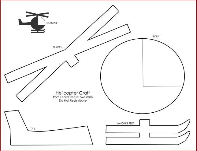 Recortable Helicoptero                                                                                                                                                      Más