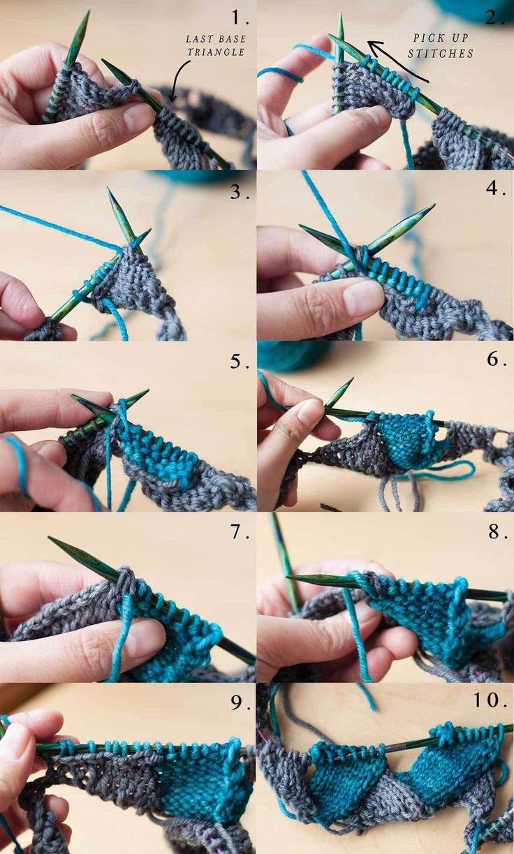 """Learn to Knit Entrelac With Ease in this Step-by-Step Tutorial"" via The Craftsy Blog: http://ift.tt/1wqN2LG"