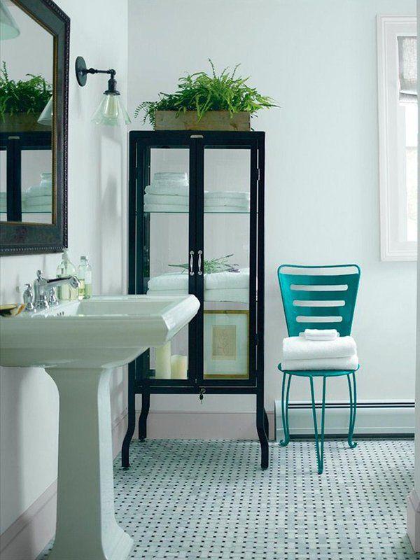 de pintura de baño, Colores del cuarto de baño azul y Colores de