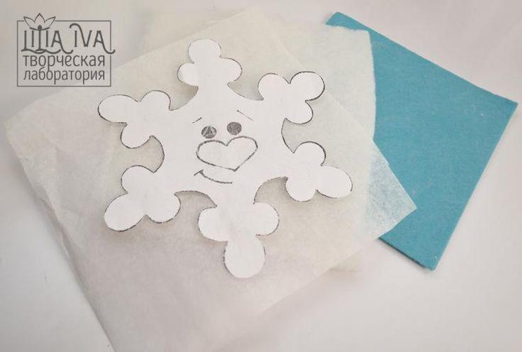 Шьем снежинки из салфеток - Ярмарка Мастеров - ручная работа, handmade