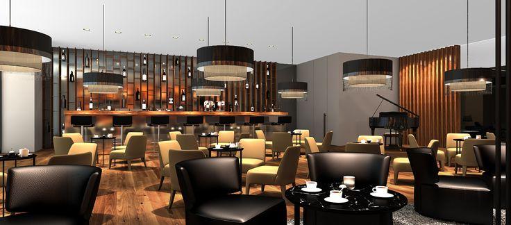 Otelin Bar kısmı .