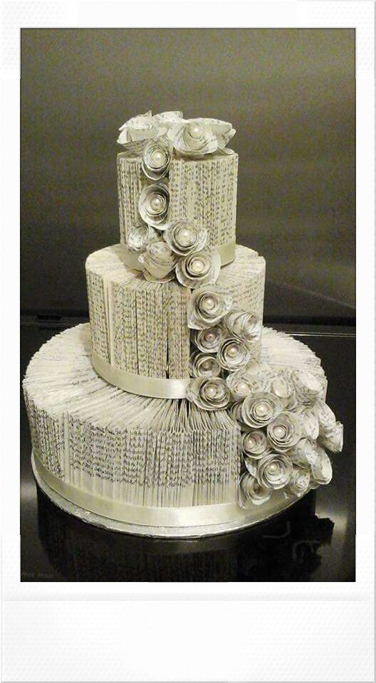 Check out this item in my Etsy shop https://www.etsy.com/uk/listing/239062377/3-tier-book-fold-wedding-cakebook-fold