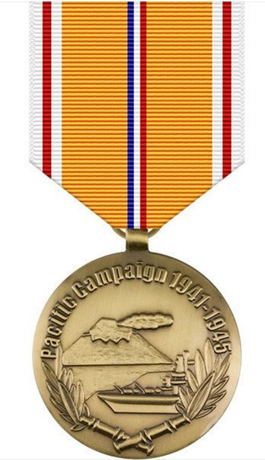 World War II Victory in the Pacific 50th Anniversary Commemorative Medal