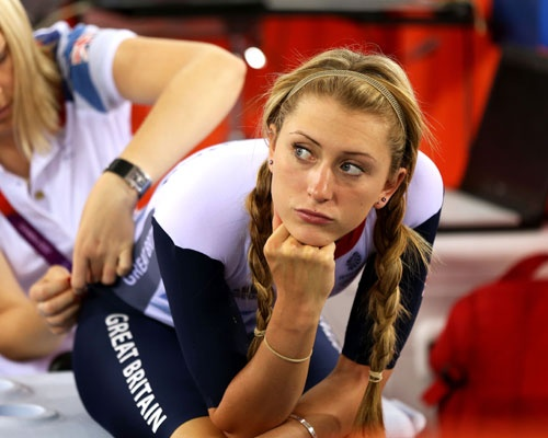 our olympic champs love laura trott s two plaits and hairband  bo