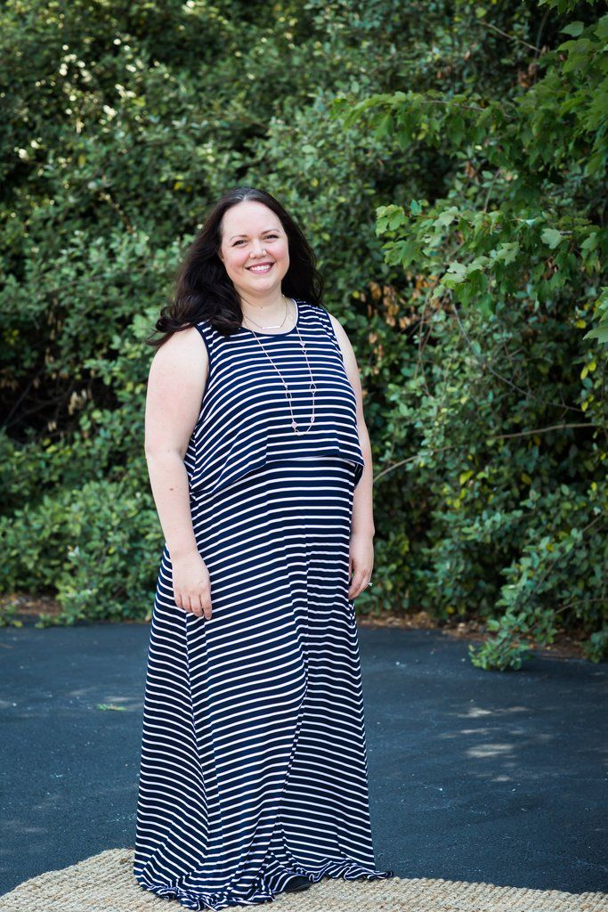 Latched Mama Plus Swing Maxi | plus size breastfeeding ...