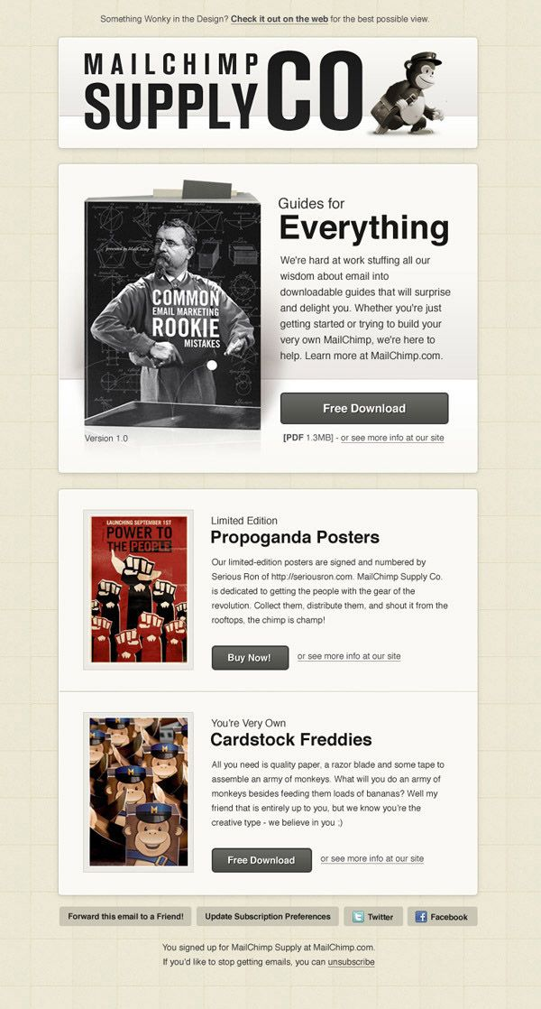 1000 images about holiday email blasts on pinterest for Great mailchimp templates