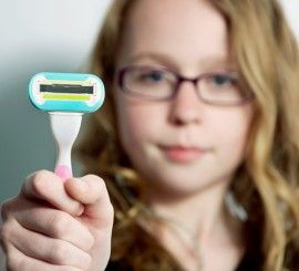 How Do I Talk To My Daughter About Shaving?