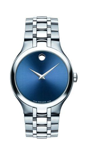 17 best images about watches skeleton watches movado men s collection swiss movement stainless steel blue dial watch 0606369 by movado