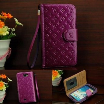 on sale dfe24 e0f4a Amazon.com: Designer Inspired Luxury Fashion Faux Leather Flip Cover ...