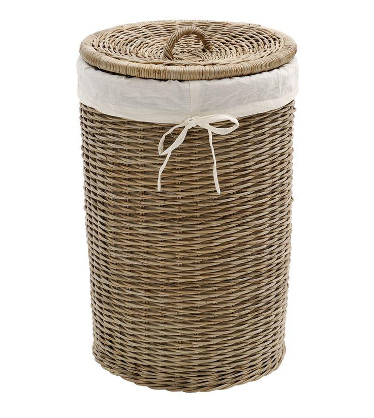 laundry basket, bruka design.