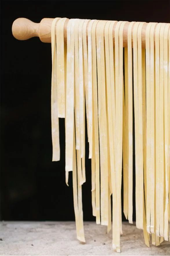 Pasta selber machen_Pasta trocknen