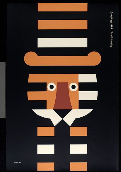 Credit: With thanks to the Estate of Tom Eckersley/University of the Arts London/Archives & Special Collections Centre Tom Eckersley...: