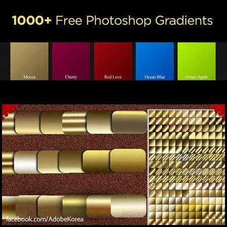 1000+ FreePhotoshop Gradients