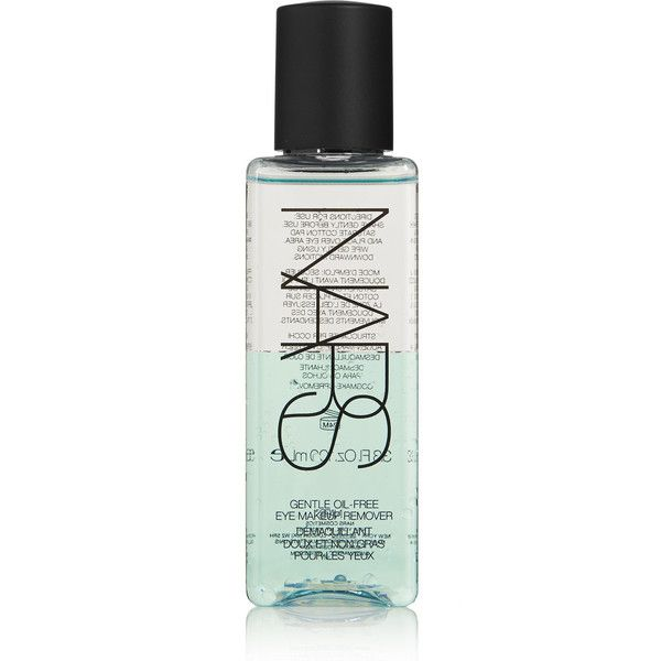 NARS Gentle Oil-Free Eye Makeup Remover, 100ml ($25) ❤ liked on Polyvore featuring beauty products, skincare, face care, makeup remover, beauty, makeup, nars, filler, oil free eye makeup remover and nars cosmetics