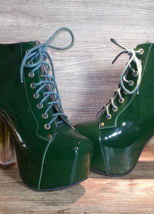 Kaufe meinen Artikel bei #Kleiderkreisel http://www.kleiderkreisel.de/damenschuhe/hohe-schuhe/139730896-jeffrey-campbell-schuhe-plateaus-high-heels-design-blogger-39-vb