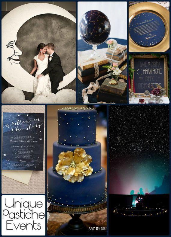 It's Written in the Stars – Astronomy Themed Wedding #wedding #stars