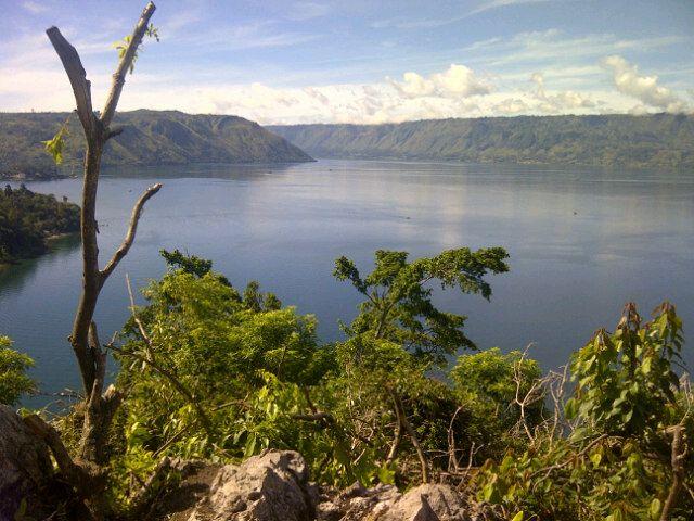 Danau Toba in Simalungun, Sumatera Utara