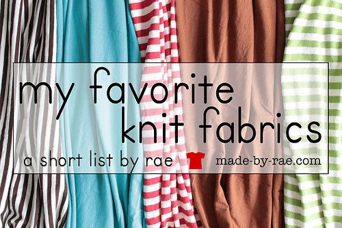 my favorite knits (and where to buy) by Made By Rae