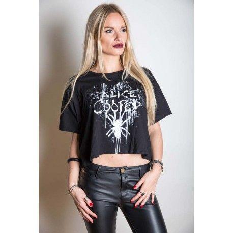Alice Cooper: Spider Splatter (tricou fashion - dama)