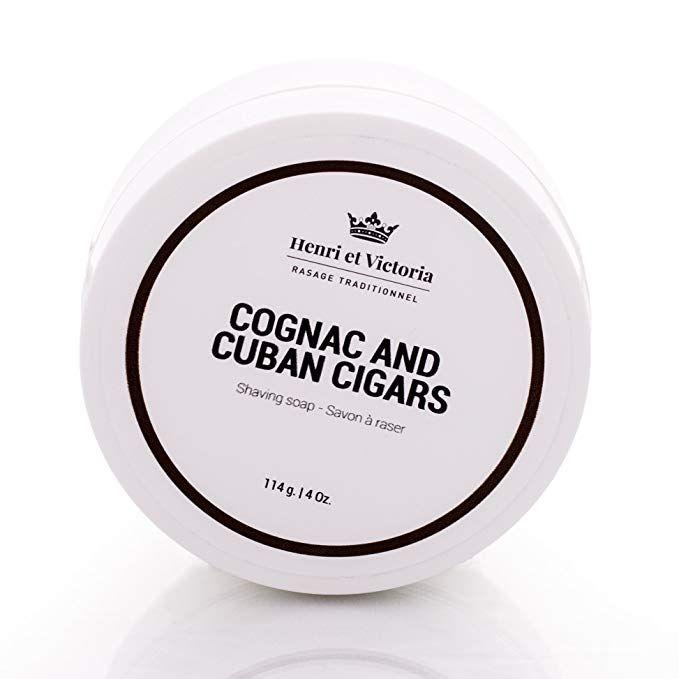 8e31986186f5 Henri et Victoria Shaving Soap For Men   Cognac and Cuban Cigars ...