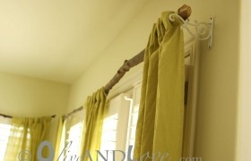 Neat!Decor, Ideas, Curtain Rods, Living Room, Branches Curtains Rods, Trees Branches, Tree Branches, House, Diy Curtains