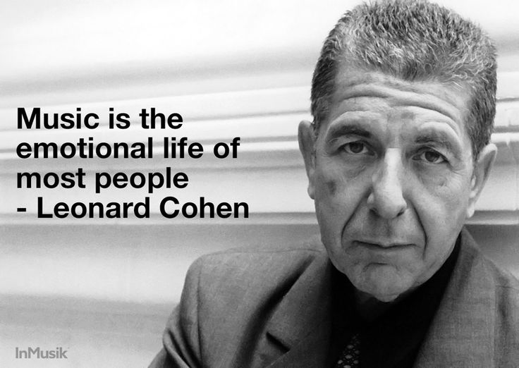 Leonard Cohen Quotes RIP