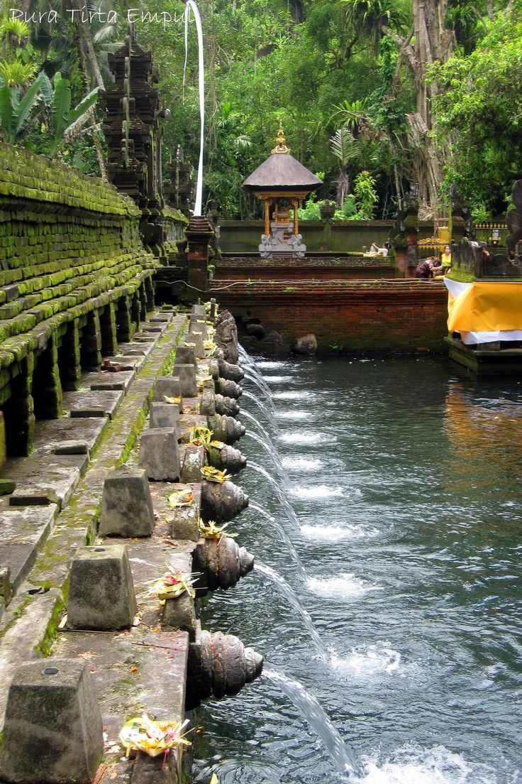 Tirta Empul Temple (Pura Tirta Empul), The Most Magical Temple in Bali! Very few touristis, very quiet. A great place for prayer/meditation and to experience the world. Have you been?  - Paul Wagner
