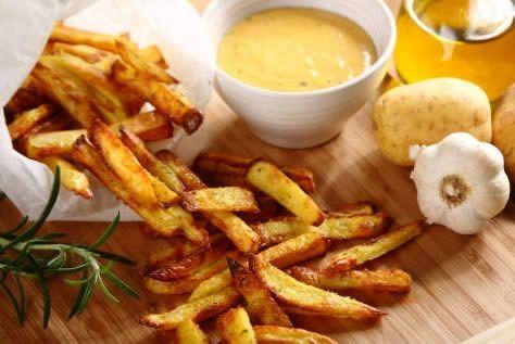 Сливочно-сырный соус для картофеля фри